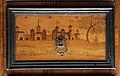 Bottega forse della germania meridionale, stipo con intarsi, 1610 ca. 04.JPG