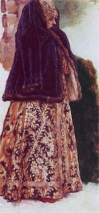 Boyaryna Morozova by V.Surikov - sketch 10.jpg