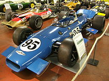 Photo de la Brabham BT25.