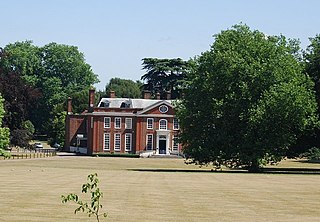 Bradbourne House Grade I listed English country house in the United Kingdom