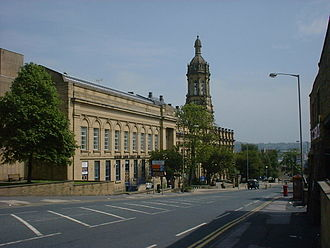 Bradford College - The Old Building at Bradford College