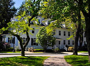 Denis Mary Bradley - Bradley House is home to several faculty offices