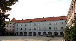 Braniewo Gdańska 17 19 Liceum Hosianum.JPG