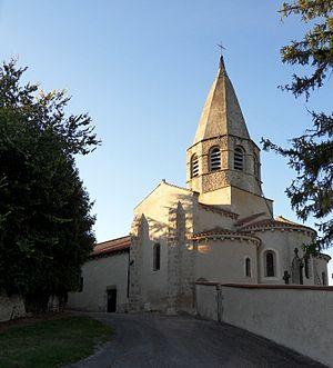 Bransat - The church in Bransat