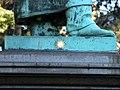 Braunschweig Gauss-Denkmal Detail mit Stern.JPG
