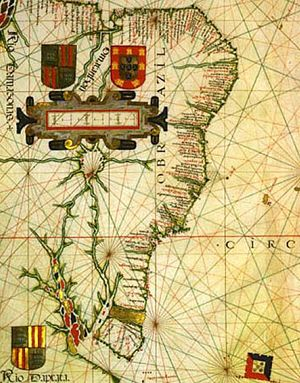 Evolution of the Portuguese Empire - From Vaz Dourado atlas of c. 1576
