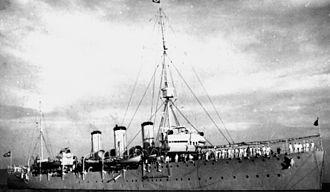 Brazilian cruiser Bahia - Image: Brazilian cruiser Bahia 1b