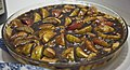 Bread pudding with apples and whisky sauce.jpg