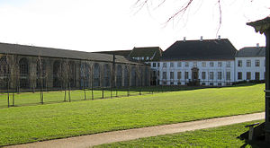 Brede, Denmark - The Brede Works main building and park