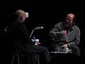 Brian Eno, Danny Hillis by Pete Forsyth 07.jpg
