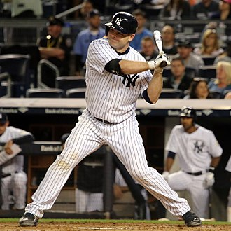 Brian McCann (baseball) - McCann batting for the New York Yankees in 2015