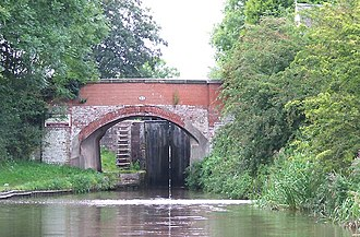 Sandon, Staffordshire - Bridge 83 and Sandon Lock on the Trent and Mersey Canal