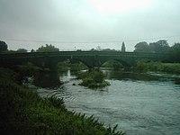 Bridge connecting Thulston, Elvaston and Borrowash.jpg