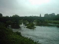 Bridge connecting Thulston, Elvaston and Borrowash.jpg