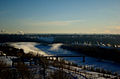 Bridge over the North Saskatchewan River in Edmonton, at dawn.jpg