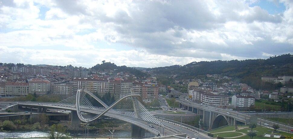 Barrio da Ponte, norte da ponte.