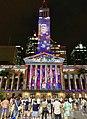 Brisbane City Hall light projection show 2018, 05.jpg