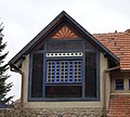 Brno, Žabovřesky, Jurkovičova vila - vikýř.JPG