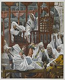 Brooklyn Museum - The Possessed Man in the Synagogue (Le possédé dans la Synagogue) - James Tissot.jpg