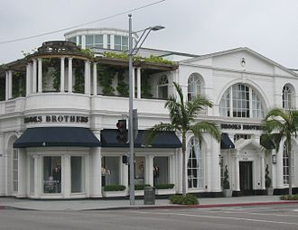 Brooks Brothers - Brooks Brothers store on Rodeo Drive in Beverly Hills, California