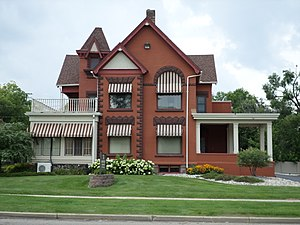 National Register of Historic Places listings in Ingham County, Michigan - Image: Brown Price House Lansing