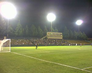 Stevens Stadium - Buck Shaw prior to 2008 renovation during the 2007 NCAA tournament