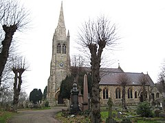 Buckhurst Hill - Church of St John the Baptist - geograph.org.uk - 648995.jpg