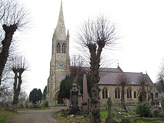 Buckhurst Hill - Image: Buckhurst Hill Church of St John the Baptist geograph.org.uk 648995