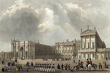 Buckingham Palace engraved by J.Woods after Hablot Browne & R.Garland publ 1837 edited.jpg