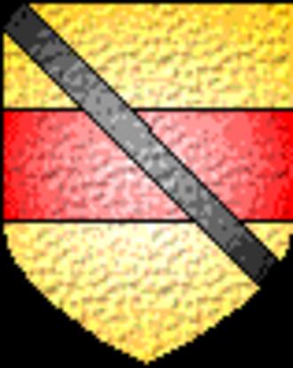 Battle of the Curragh - Image: Buckler Hugh de Lacy