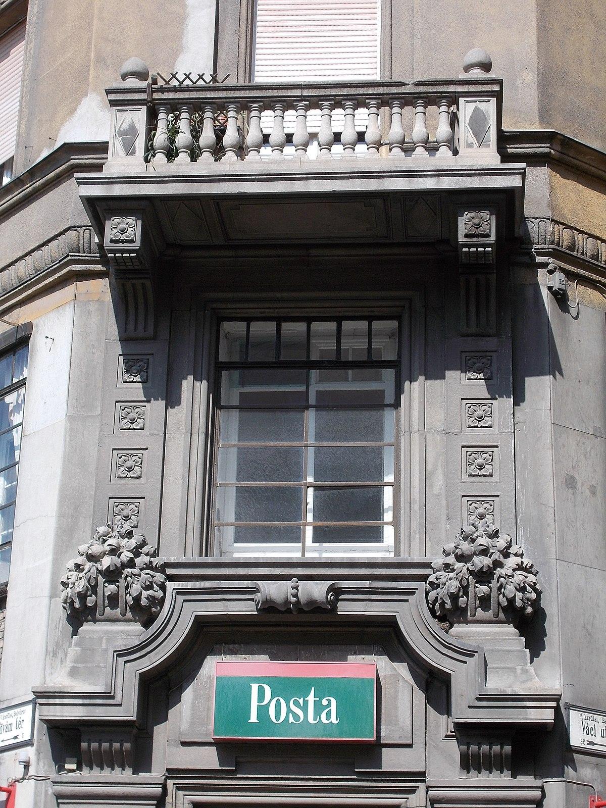 File:Budapest post office no. 56. - 5, Fővám Square ...