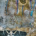 Buddhist Frescoes in Caves of Dambulla, Sri Lanka.jpg