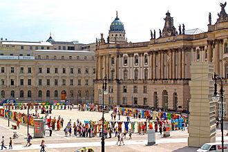 """Bebelplatz - 2010 exhibition of """"United Buddy Bears"""