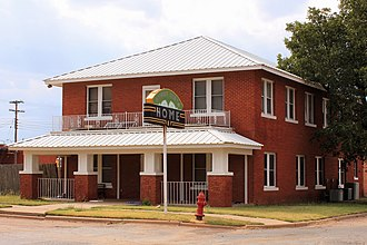 National Register of Historic Places listings in Jones County, Texas - Image: Buena Vista Hotel Stamford Texas