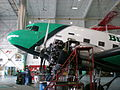 Buffalo Airways DC3 undergoing maintenance 01.jpg
