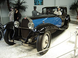 Bugatti Royale - Replica of Coupe Napoleon, made for the French film Rebus with an American V8 engine, now residing in the Sinsheim Auto & Technik Museum