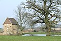 Building, Oak, and Pond. Tuckhill Farm - geograph.org.uk - 381306.jpg