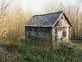 Building in Ravensroost Wood - geograph.org.uk - 1234565.jpg