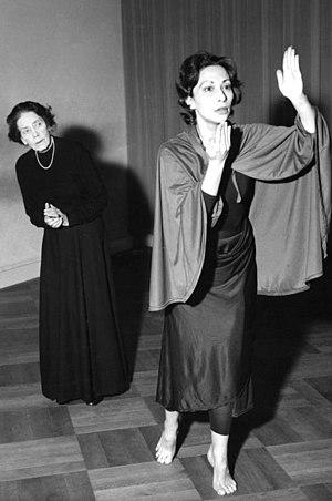 Mary Wigman - Mary Wigman (left)