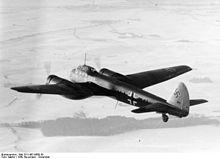 Lo Junkers Ju 88, il primo aereo della Luftwaffe ad effettuare una incursione in Gran Bretagna.