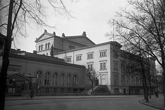 Kroll Opera House - Opera house in 1930