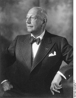 Oskar Messter - Oskar Messter, 1920