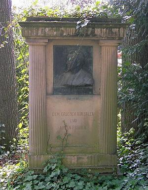August Bungert - August Bungert's tomb