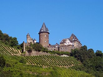 Middle Rhine - Stahleck Castle at Bacharach