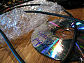 Burned CD, Gravity Slaves recording (22), Studio Contrepoint, May 2010.jpg