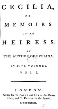 Cecilia cover