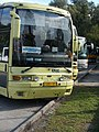 Bus depot. Csepel bus. Zalaegerszeg-Keszthely line, Keszthely, 2016 Hungary.jpg