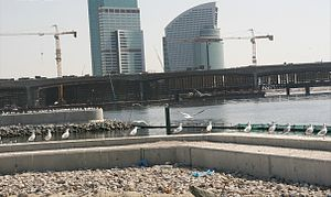 Business Bay Crossing - Image: Business Bay Crossing Under Construction on 31 January 2007 Pict 3