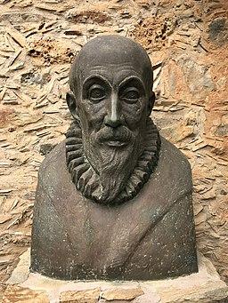 Bust of El Greco at El Greco Museum, Fodele, Crete, Greece - 1