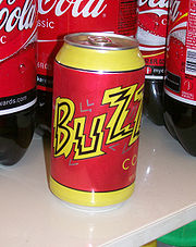 Buzz Cola, en el mundo real.